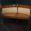 Antik fåtölj - Intarsia