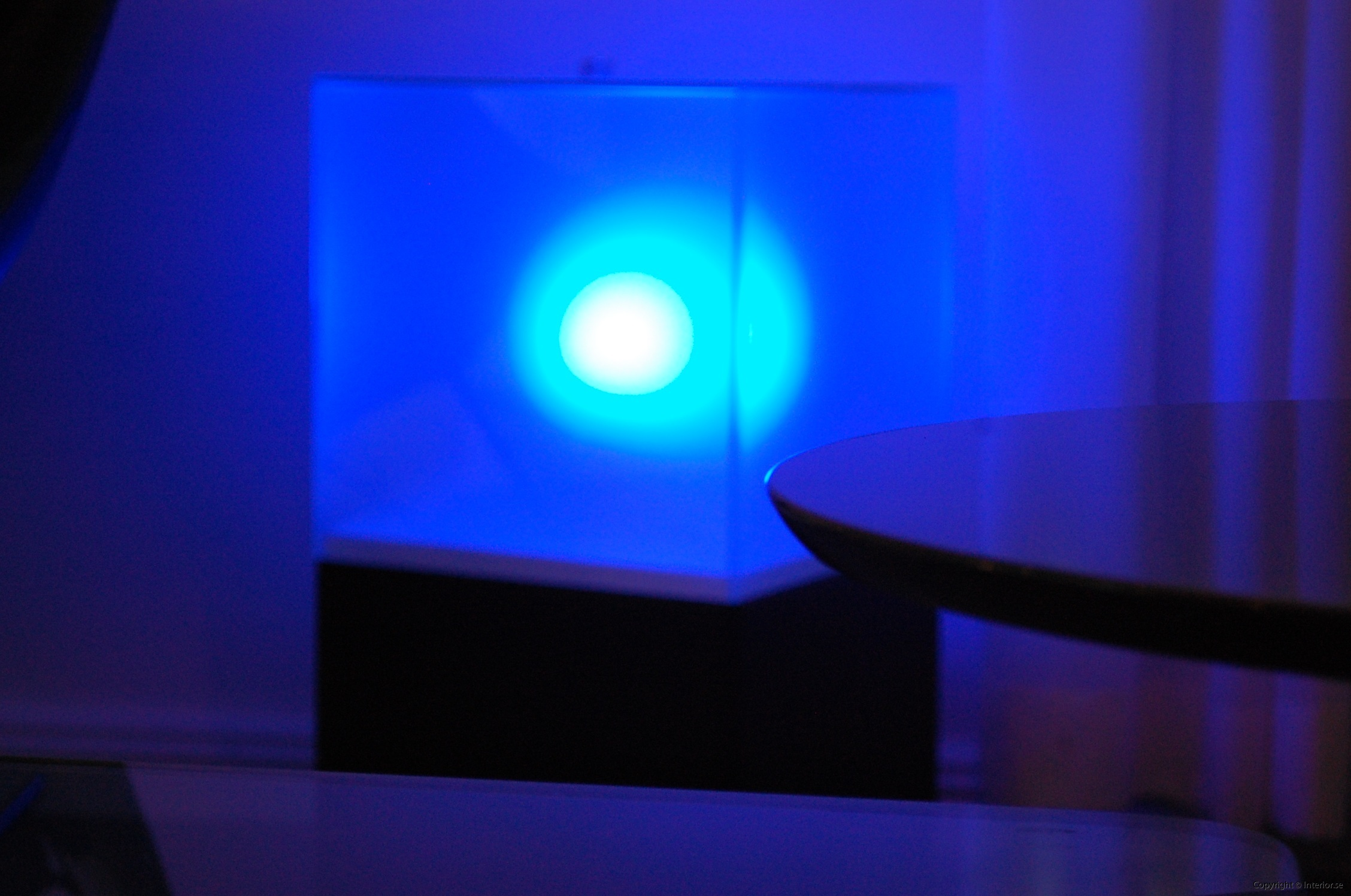Ljuslådor m. frostat glas - RGB LED lampa + fjärrkontroll LightBox (3)