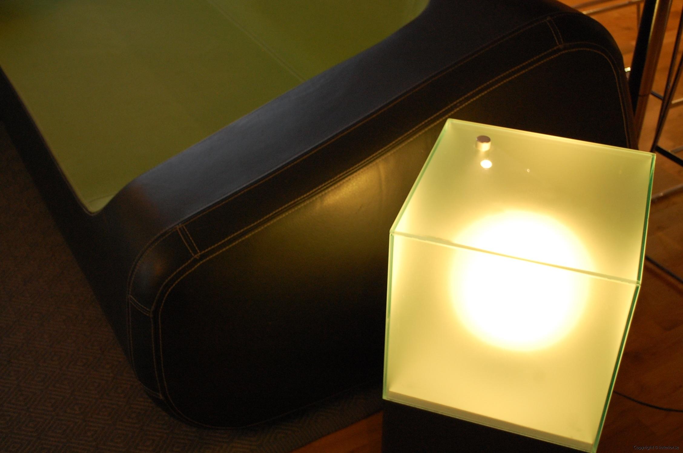 Ljuslådor m. frostat glas - RGB LED lampa + fjärrkontroll LightBox (9)