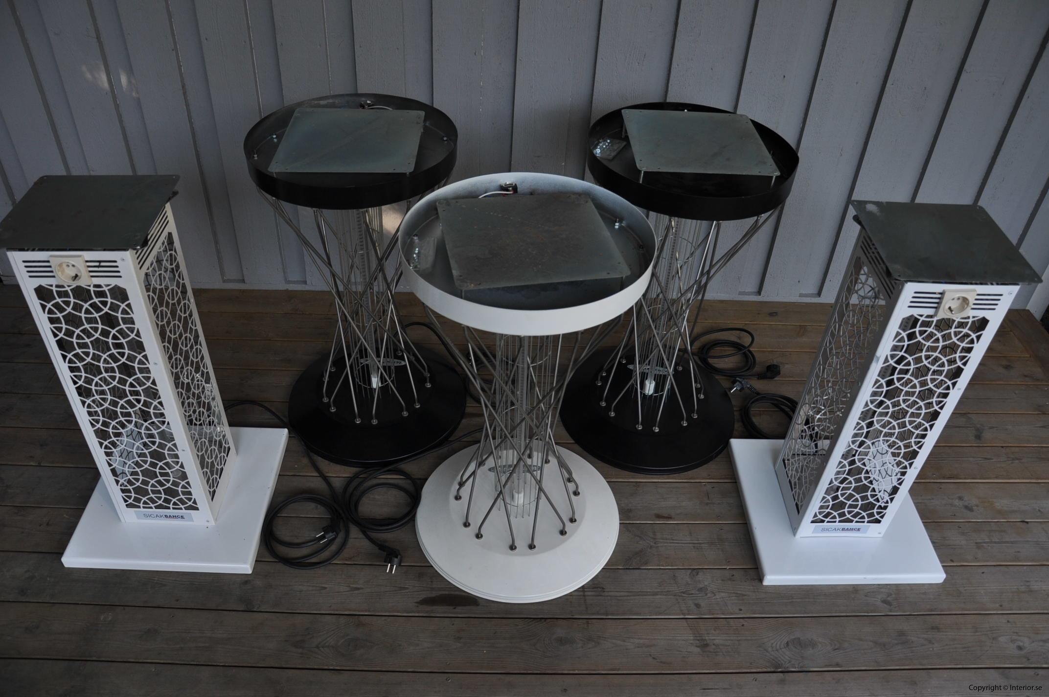 Bord med inbyggd infravärme Hyra möbler stockholm event sverige (2)