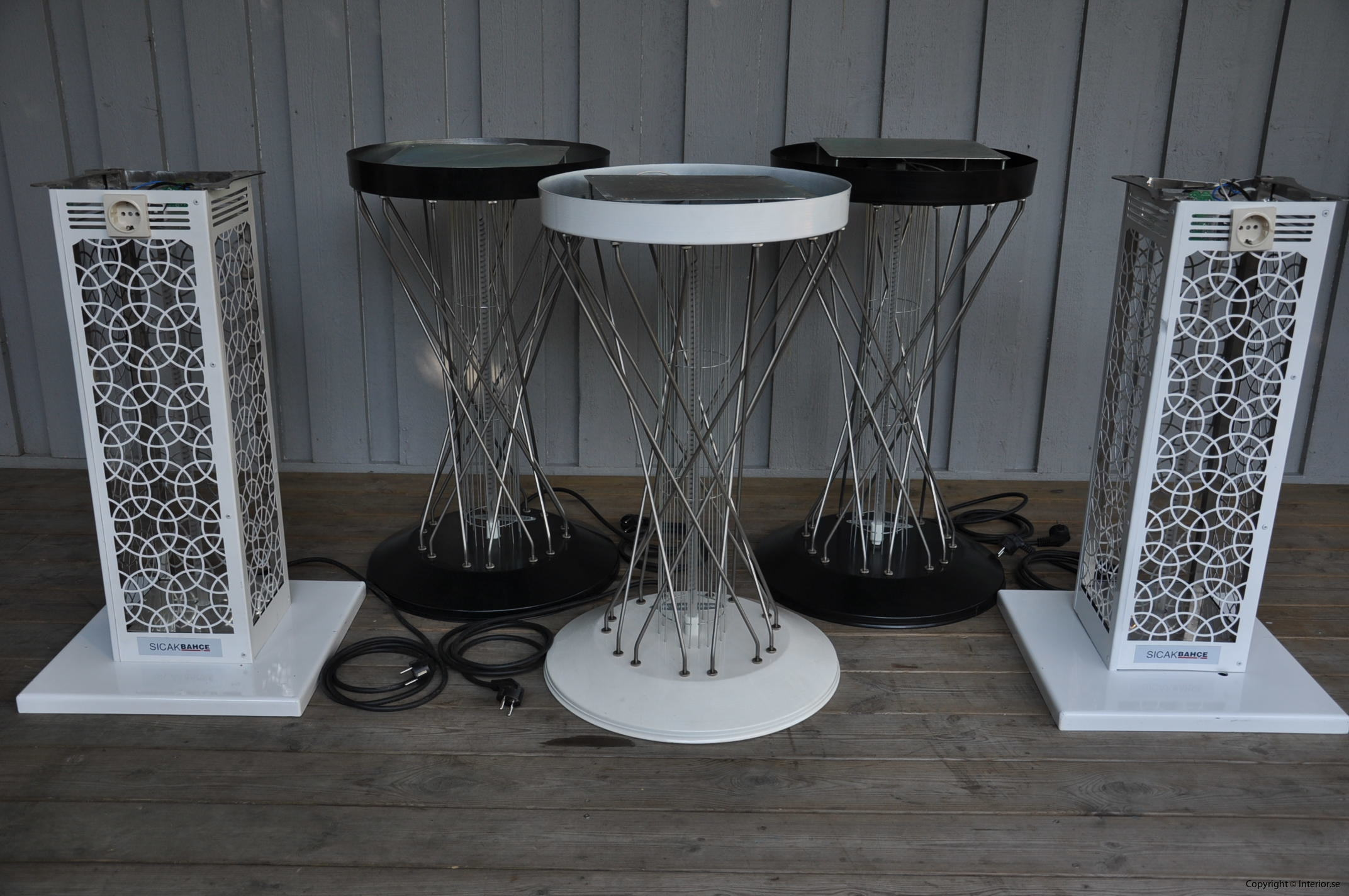 Bord med inbyggd infravärme Hyra möbler stockholm event sverige