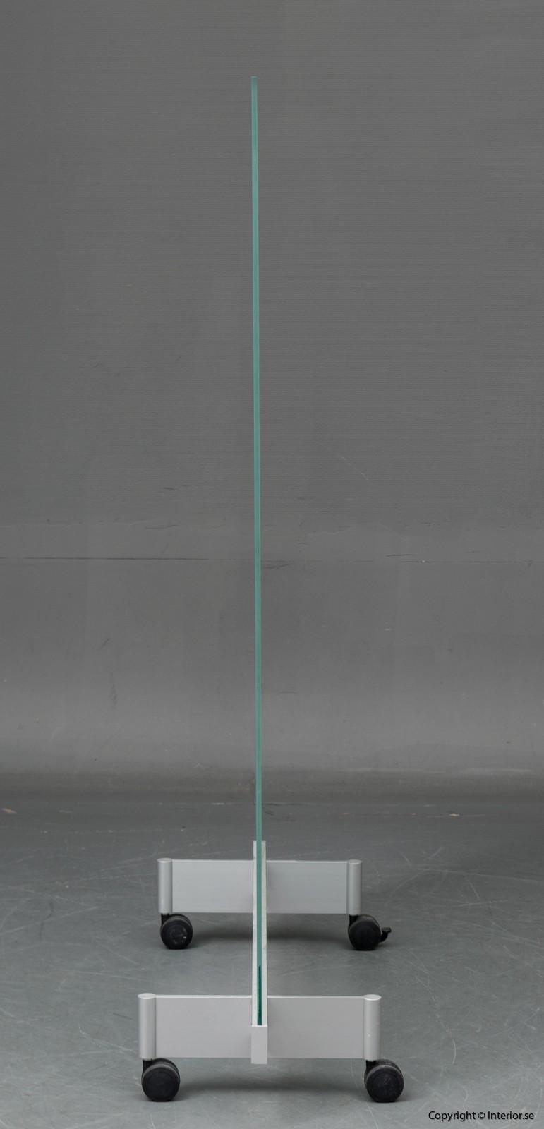BORKS, flyttbara golvskärmväggar rumsavdelare glas och med hjul BORKS, Room Divider Space Divider with glass and casters 7