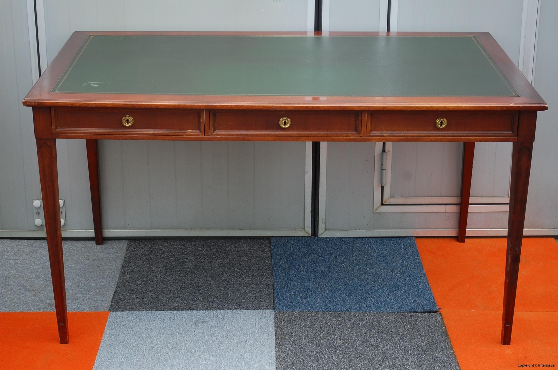 Engelskt skrivbord english working desk begagnade designmöbler stockholm sverige antikt skrivbord gammalt (21)