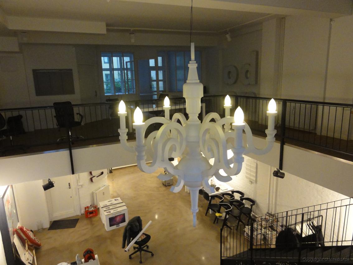 Takkrona lamp  Moooi Paper Chandelier XXL 275 cm - Studio Job 2