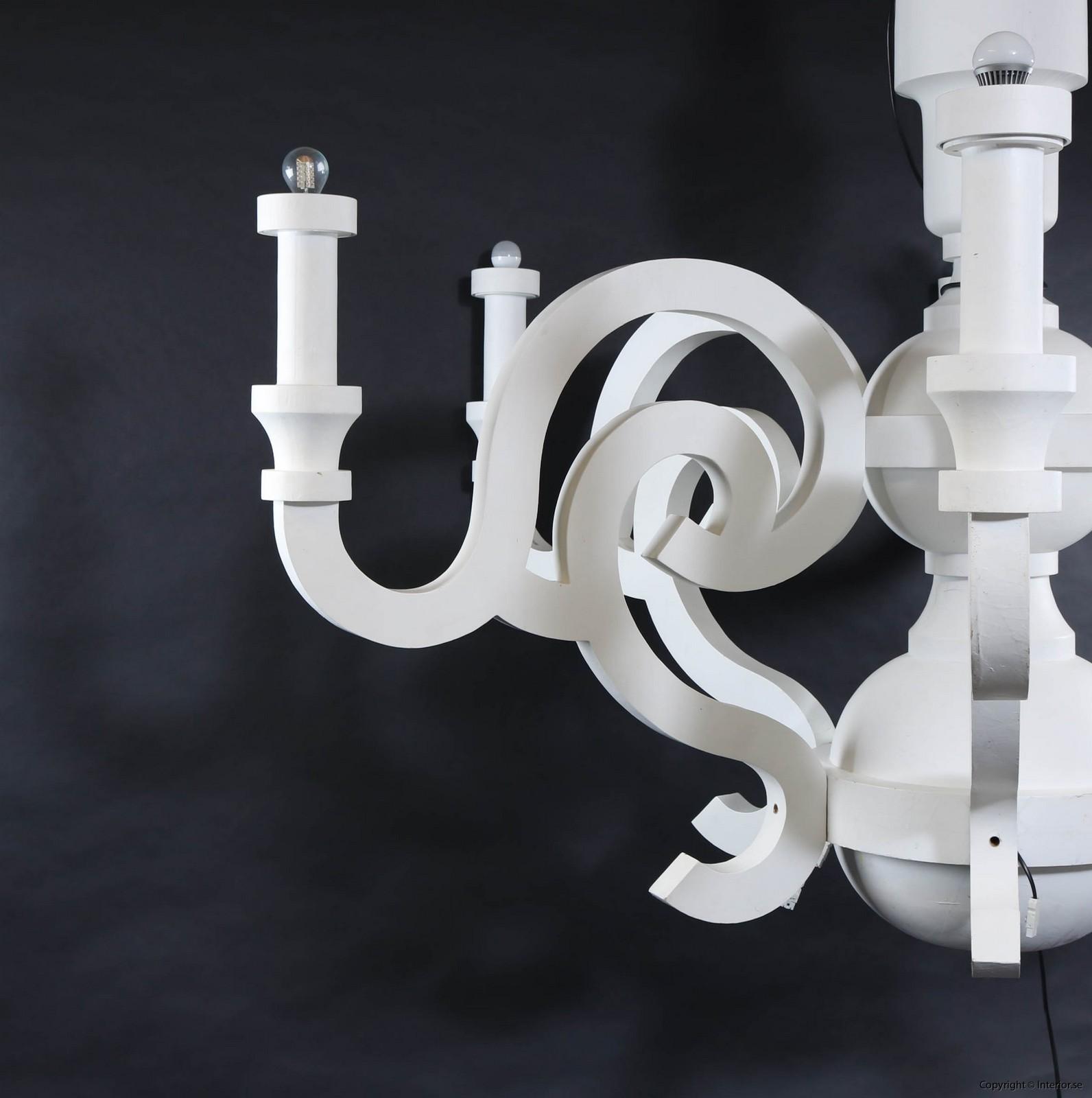 Takkrona lamp  Moooi Paper Chandelier XXL 275 cm - Studio Job design furniture