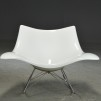 Gungstol, Stingray Fredericia Furniture - Vit