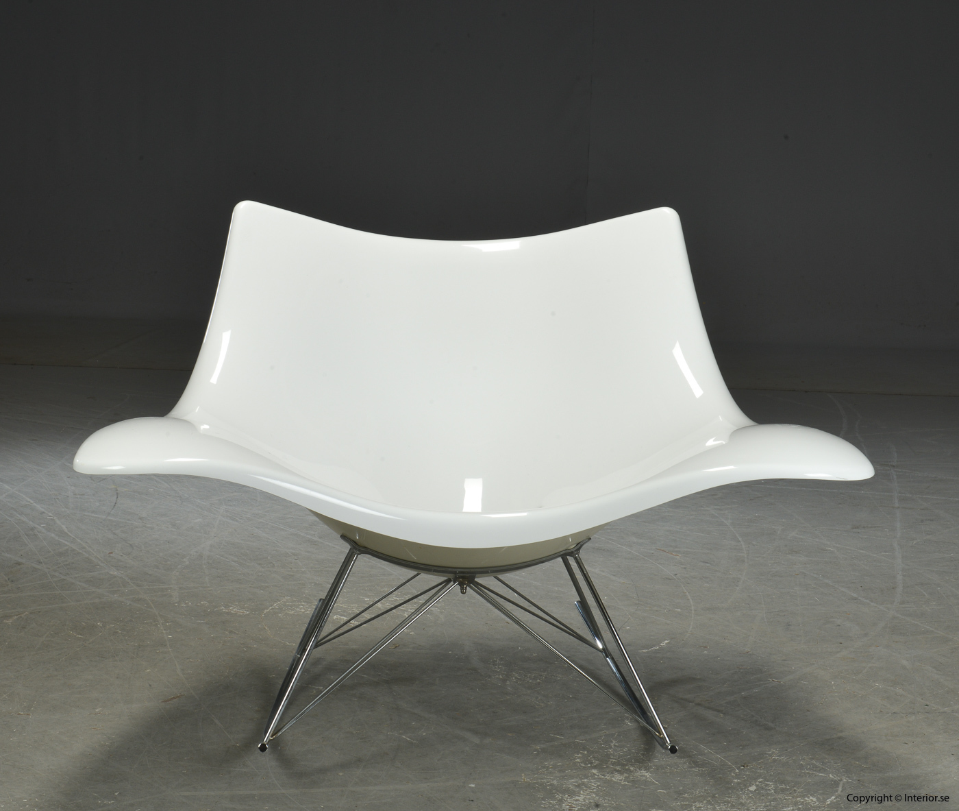 Gungstol rocking chair Schaukelstuhl, Vit Stingray Fredericia Furniture - Design Thomas Pedersen 2
