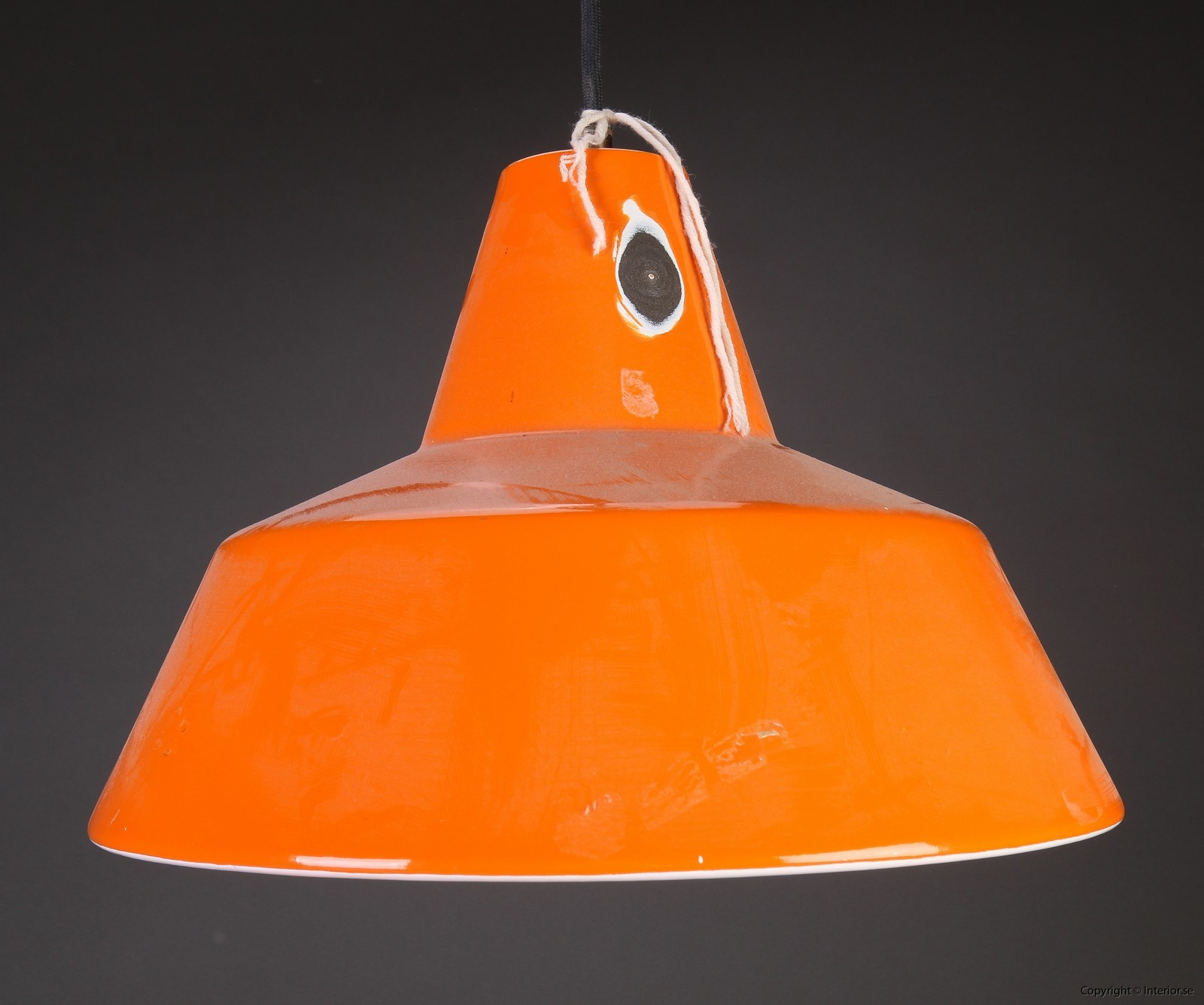 Industripendel, Louis Poulsen - Orange Industridesign 3