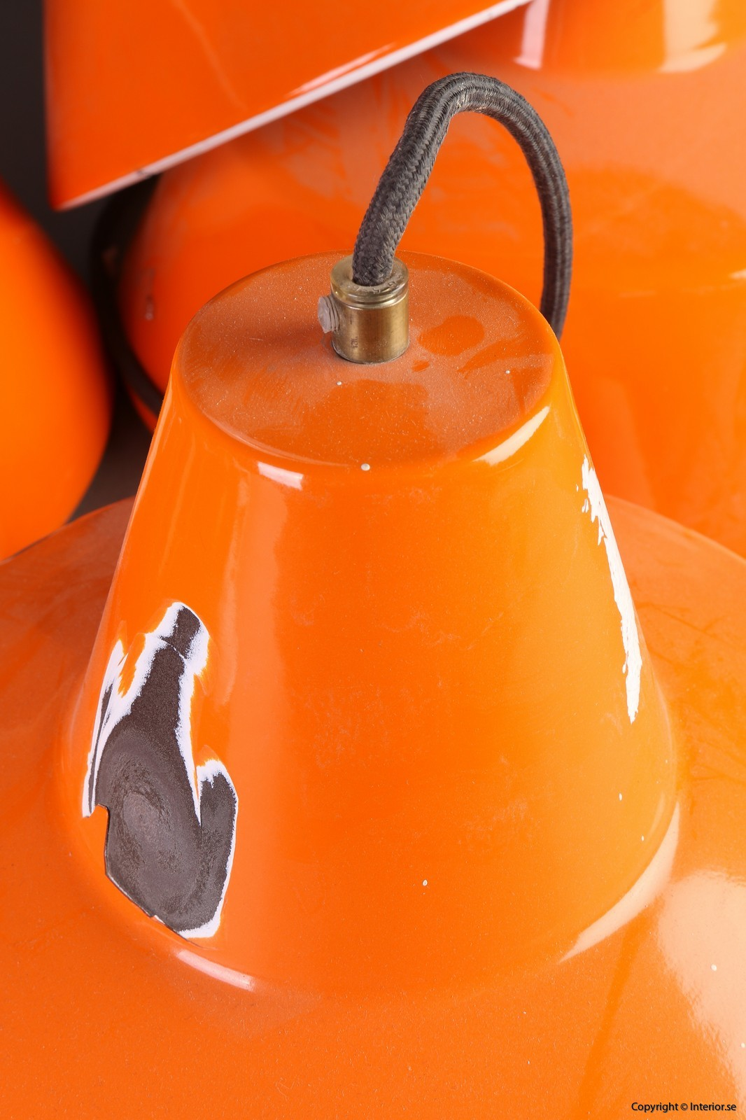 Industripendel, Louis Poulsen - Orange Industridesign 5