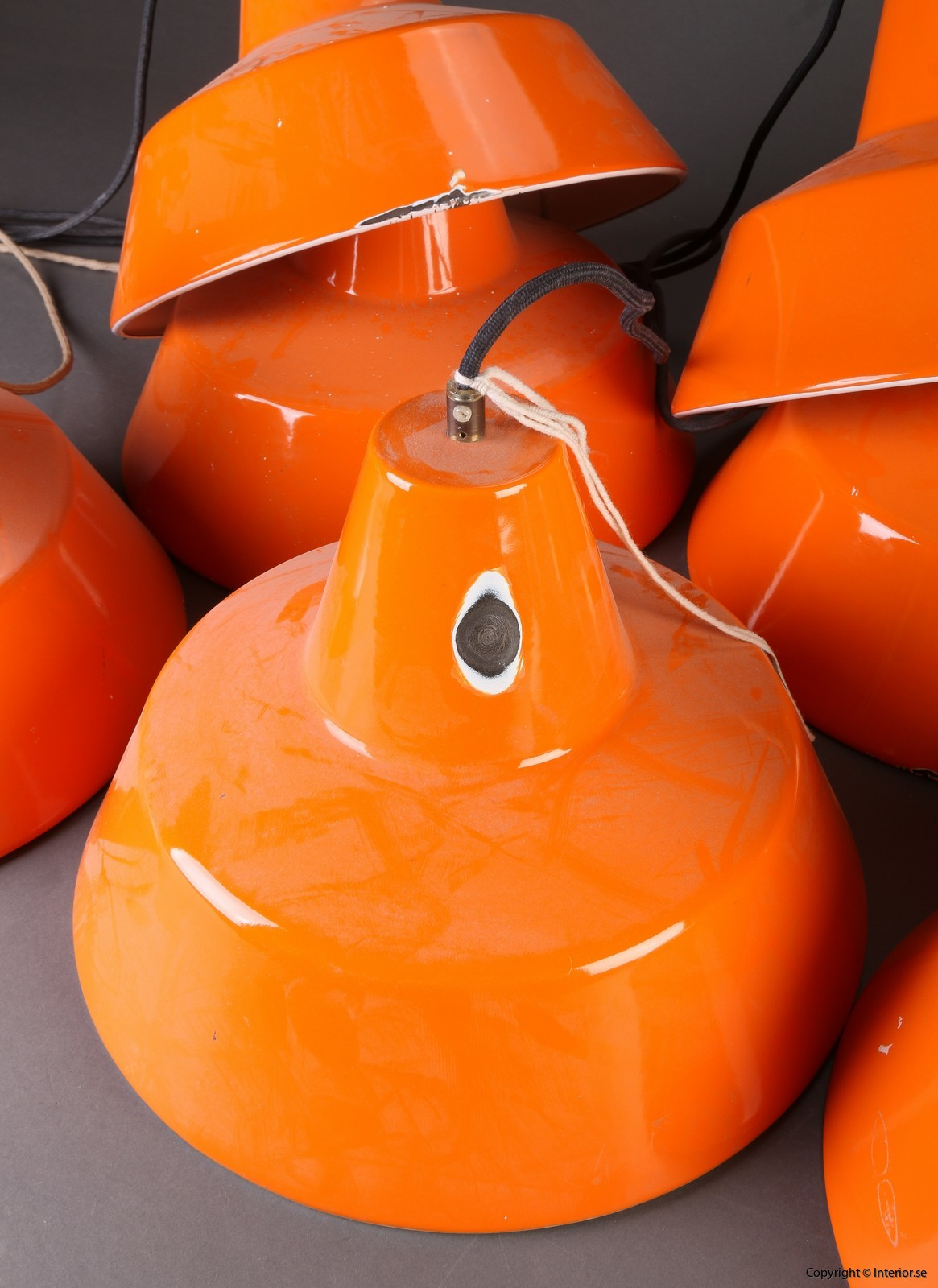 Industripendel, Louis Poulsen - Orange Industridesign 4