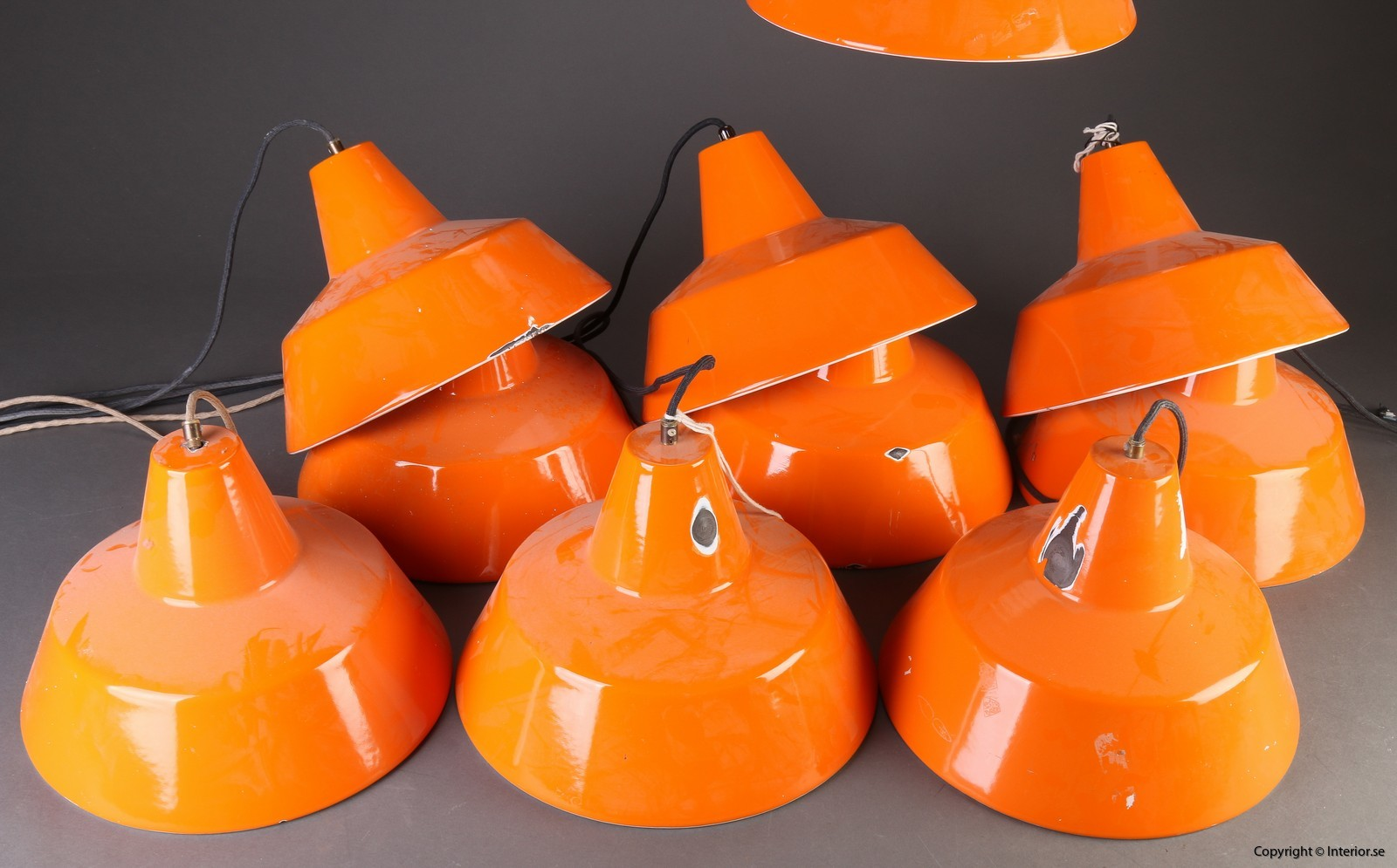 Industripendel, Louis Poulsen - Orange Industridesign 2