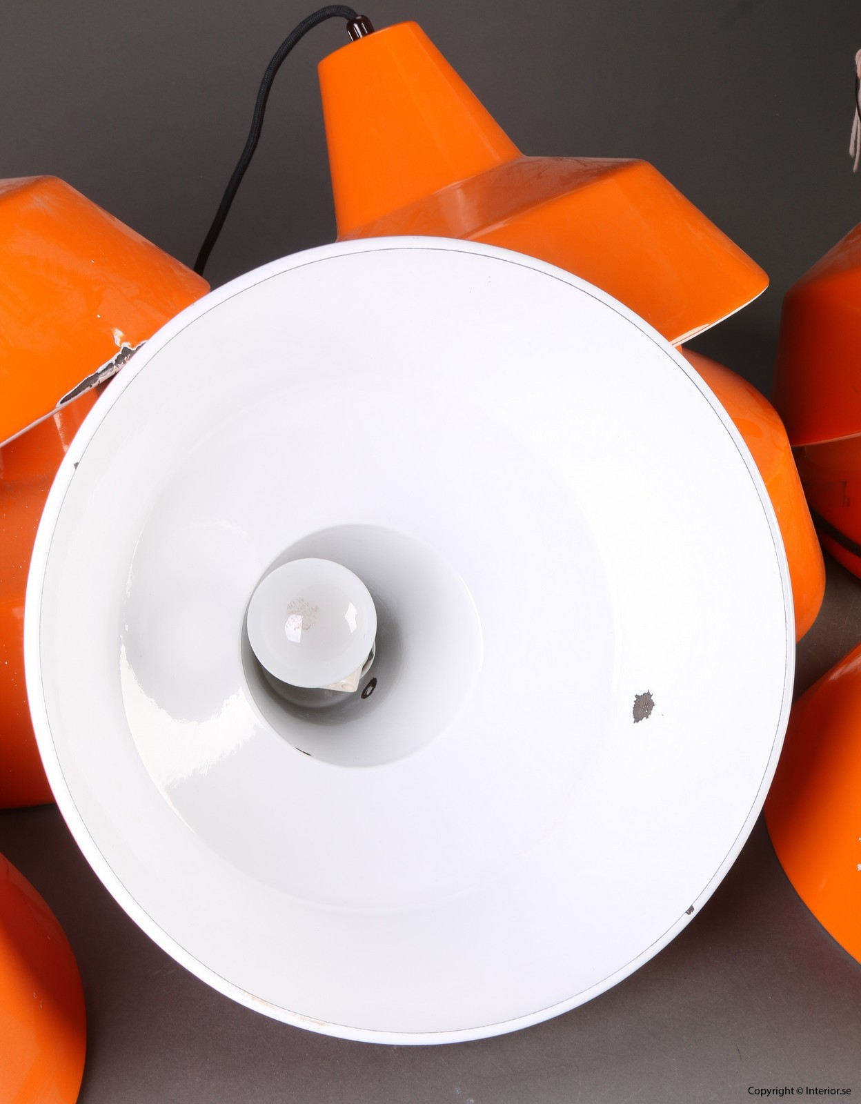 Industripendel, Louis Poulsen - Orange Industridesign 6