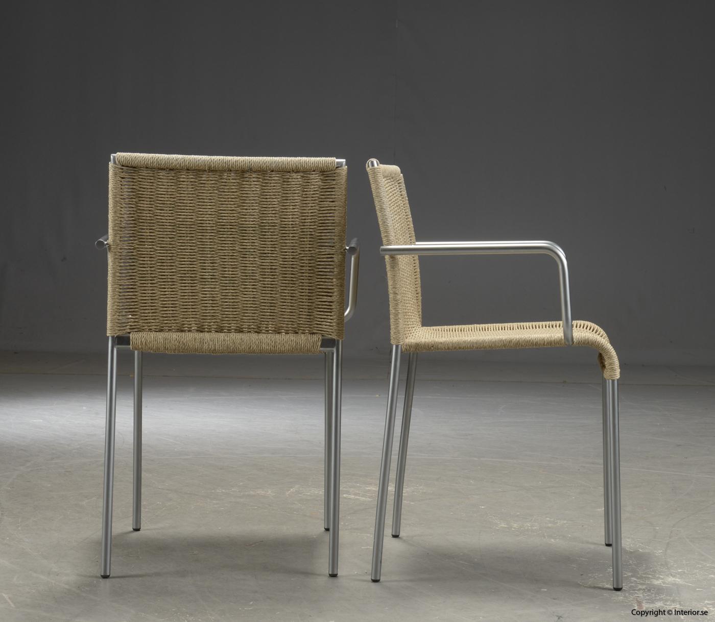 Stolar med armstöd CHAIRS WITH ARMREST , Accademia Agra - Enrico Franzolini 4