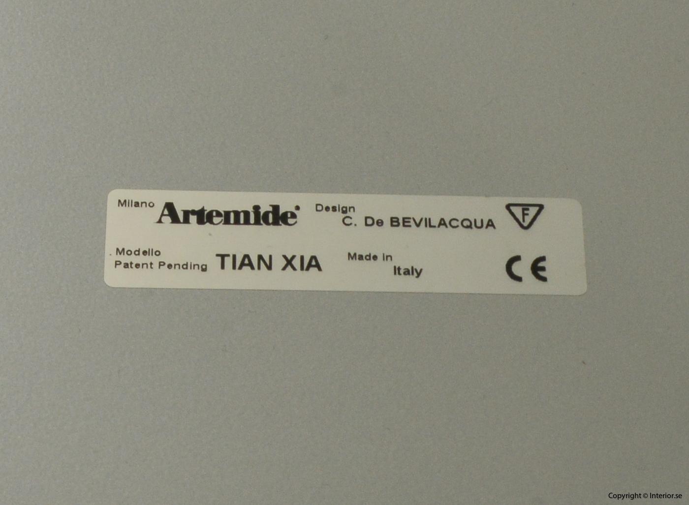 Pendel suspended lamp, Artemide Tian Xia 80 cm - Carlotta de Bevilacqua 6