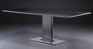 Bord, Lysber-G i glas - 200 cm