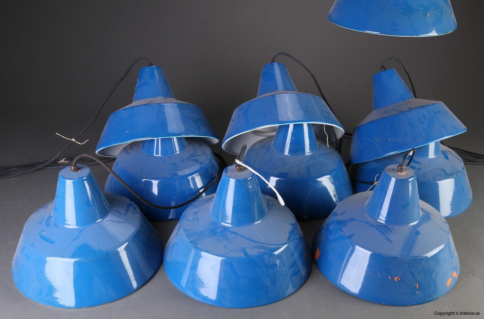 Louis Poulsen Industri lampor - Blå Industri industry design