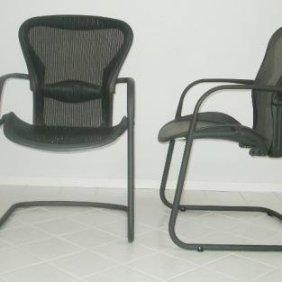 Stolar, Herman Miller Aeron Guest Chair   Hyr designmöbler