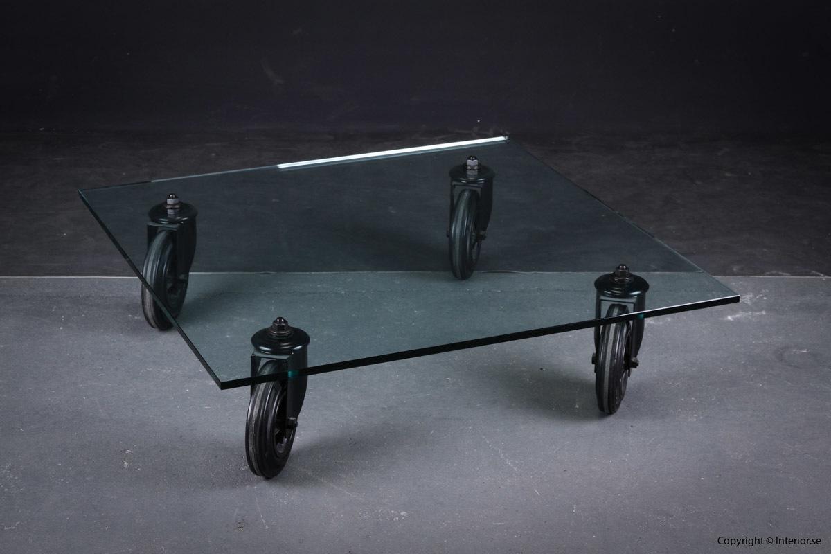 Soffbord, FantanaArte Tavolino Con Route - Industridesign hyra designmöbler möbler stockholm