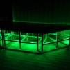 Danspodie/scener 1,5 x 1,5 m - Rostfria med LED - PAKETPRIS