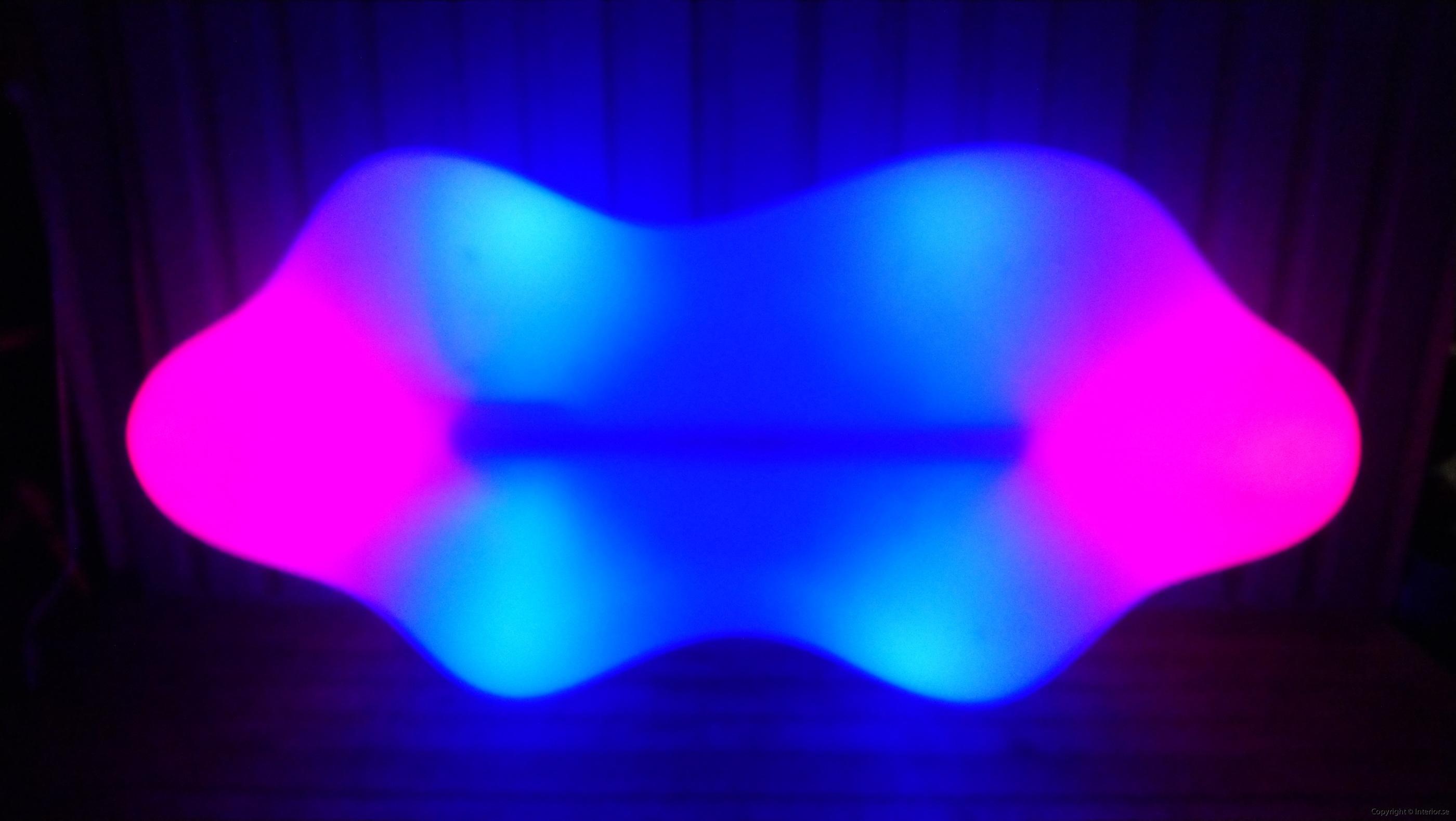 Hyr Vondom Lava Bench RGB LED möbler - Karim Rashid hyra ledmöbler hyr möbler event stockholm billigt design led (6)