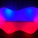 Vondom RGB LED Lava Bench - Karim Rashid