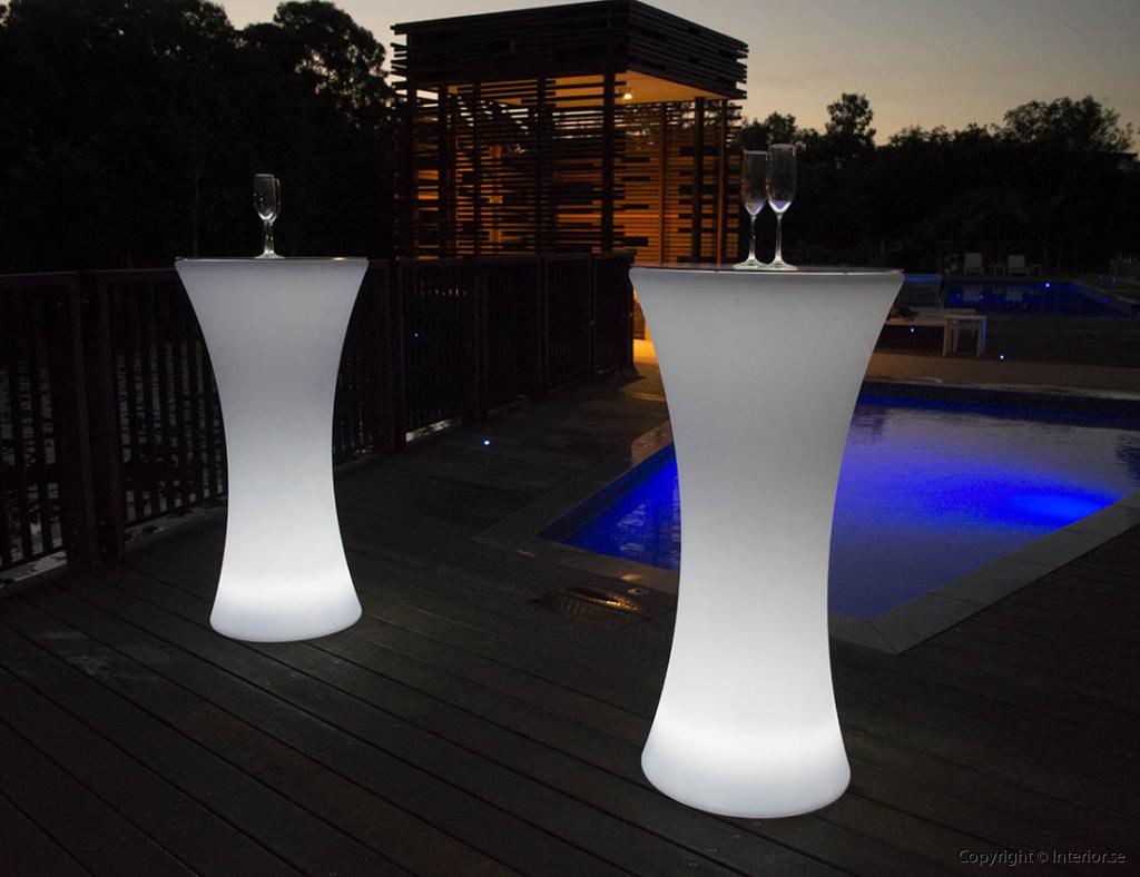 Hyra ståbord barbord stockhom led - RGB LED Uppladdsningsbara stockholm hyra
