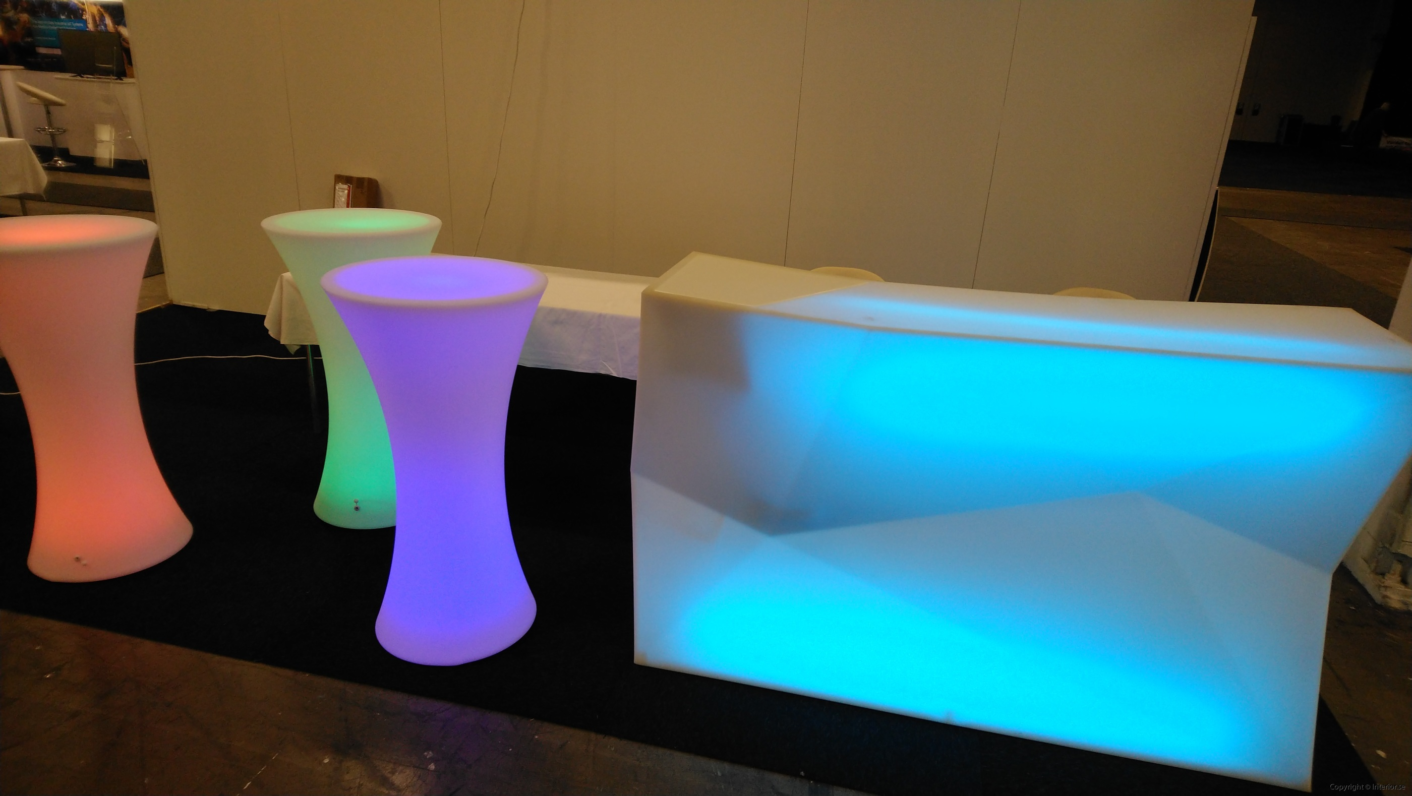 Bardisk, Vondom Faz Bar Multi Light LED - Special Design  hyra bardisk stockholm eventmöbler event (3)
