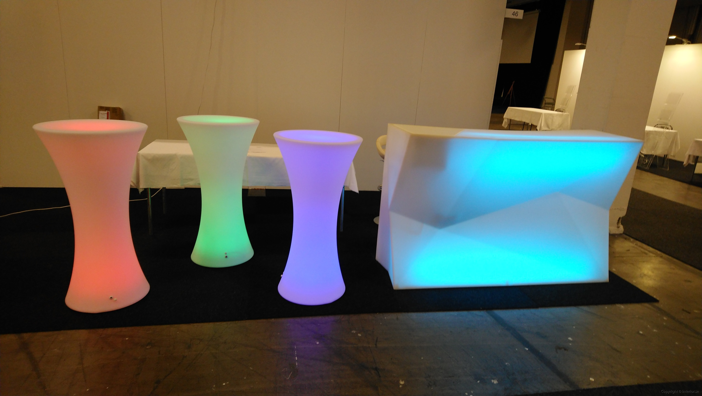 Bardisk, Vondom Faz Bar Multi Light LED - Special Design  hyra bardisk stockholm eventmöbler event (2)