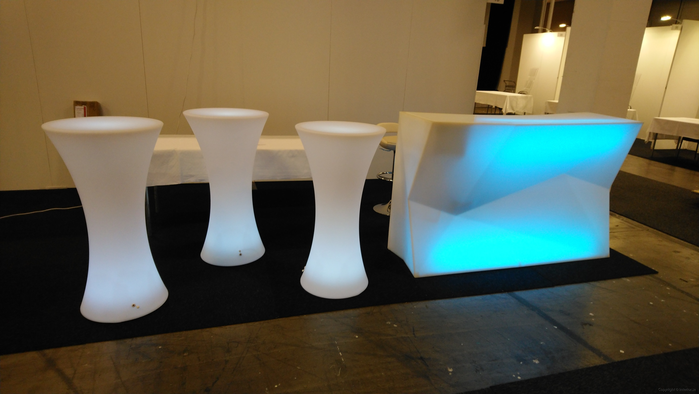 Bardisk, Vondom Faz Bar Multi Light LED - Special Design  hyra bardisk stockholm eventmöbler event