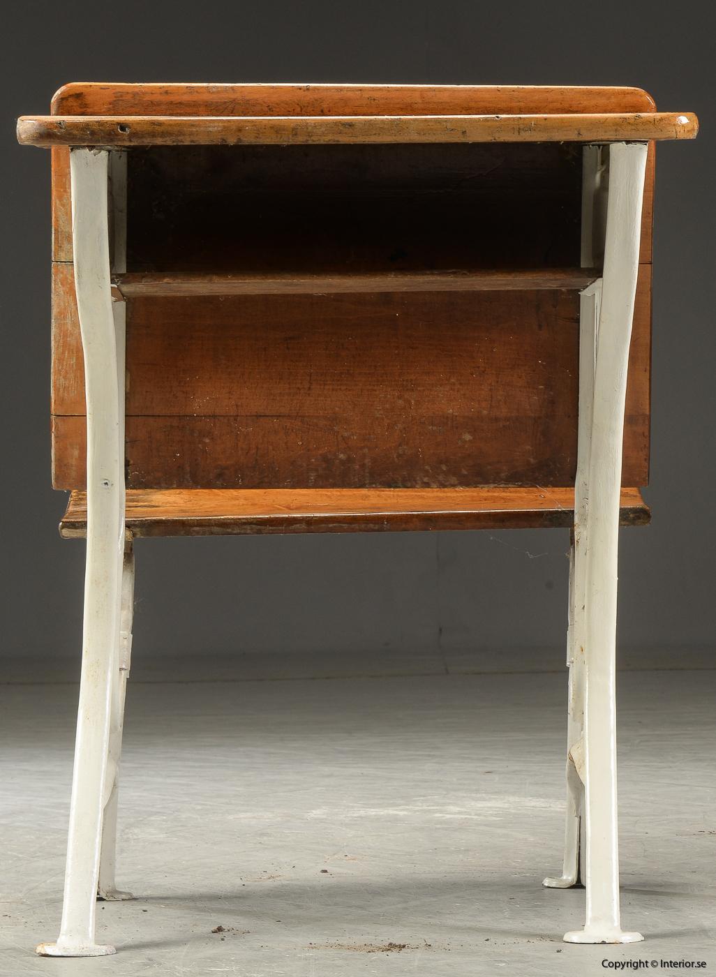 Antika skolbänkar Antique school benches - 1900 talets första hälft 6