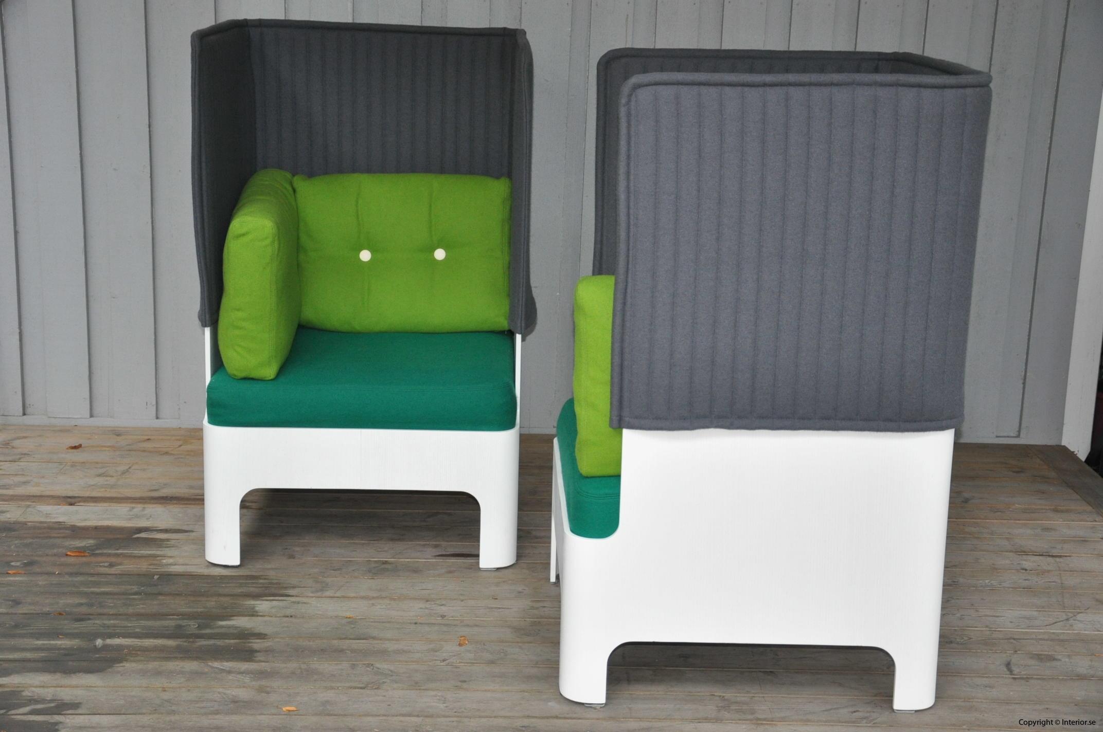 Fåtöljer armchair sessel Blå Station Koja High - Fredrik Mattson (8)