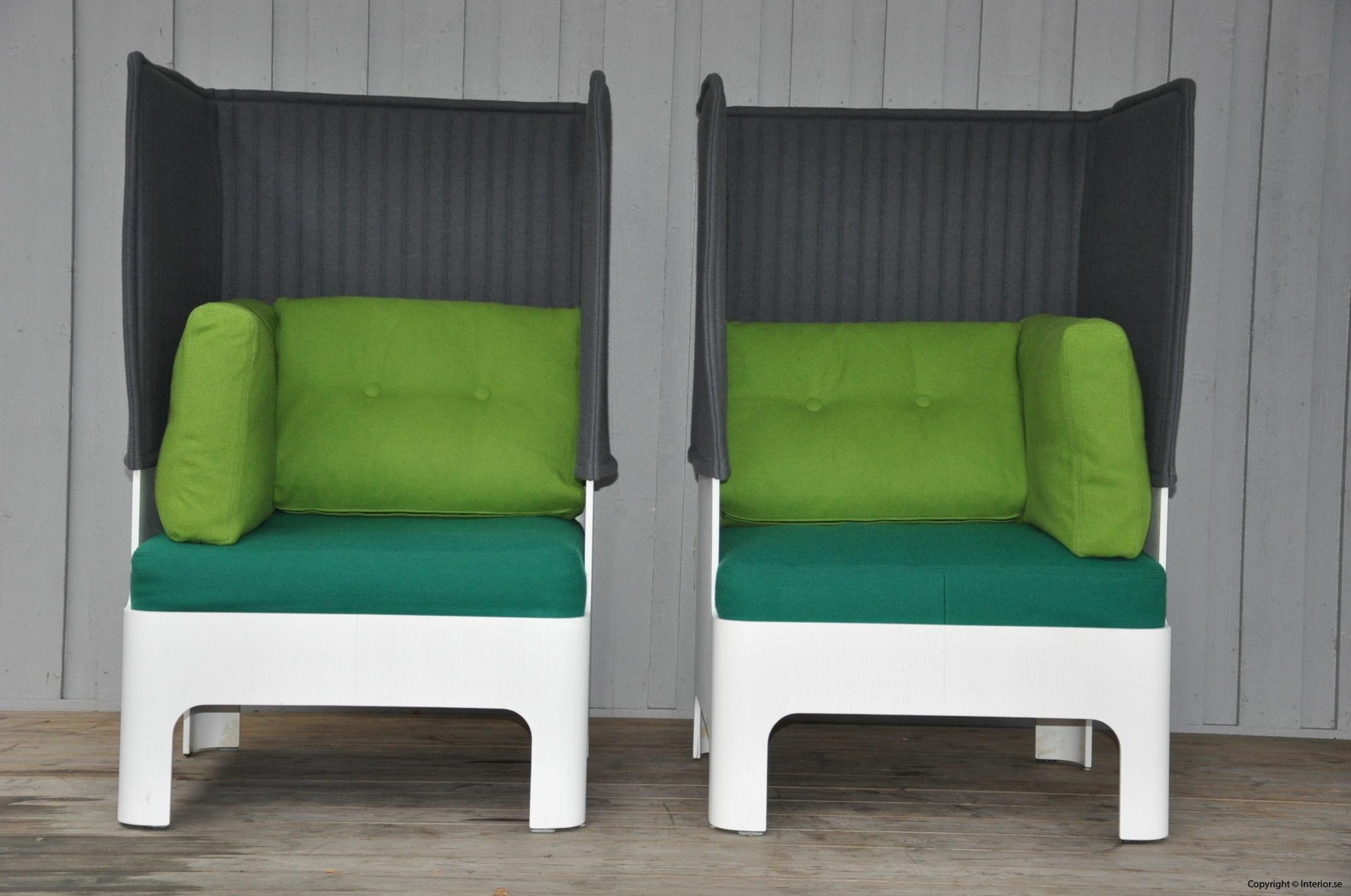 Fåtöljer armchair sessel Blå Station Koja High - Fredrik Mattson (10)