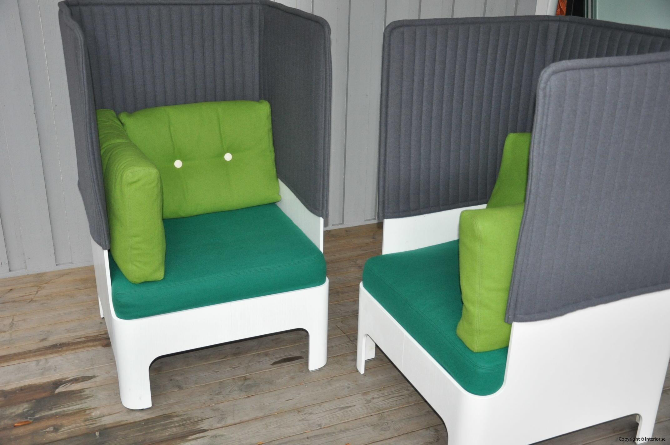 Fåtöljer armchair sessel Blå Station Koja High - Fredrik Mattson (7)