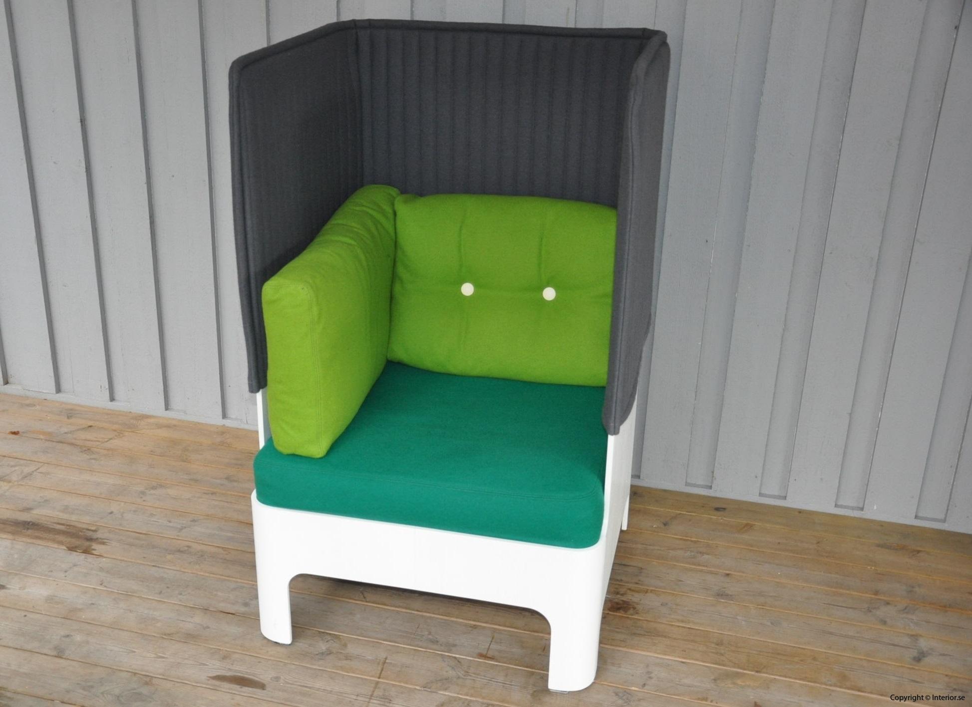 Fåtöljer armchair sessel Blå Station Koja High - Fredrik Mattson (2)