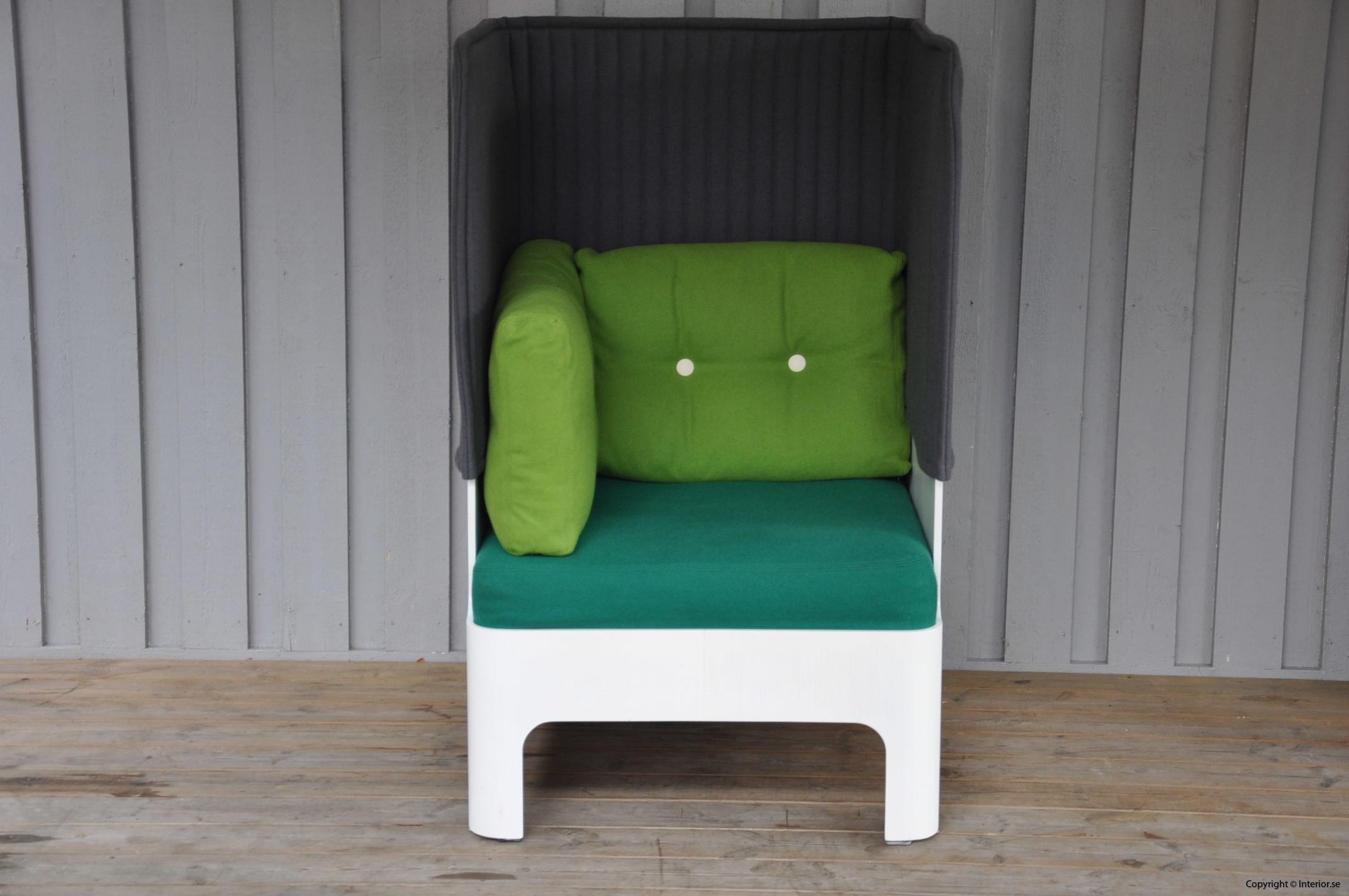 Fåtöljer armchair sessel Blå Station Koja High - Fredrik Mattson
