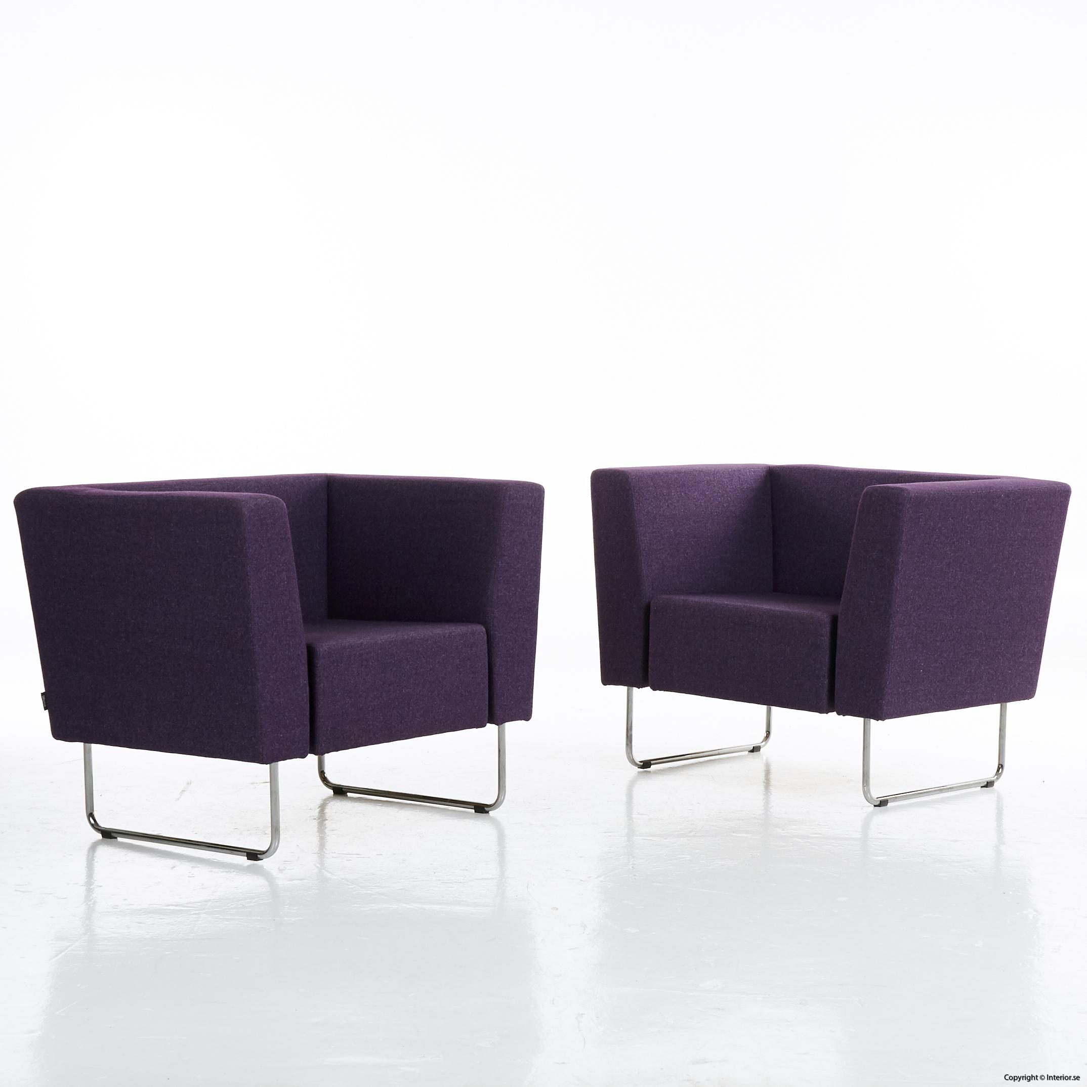 Fåtöljer, Swedese Gap Lounge begagnade designmöbler stockholm sverige