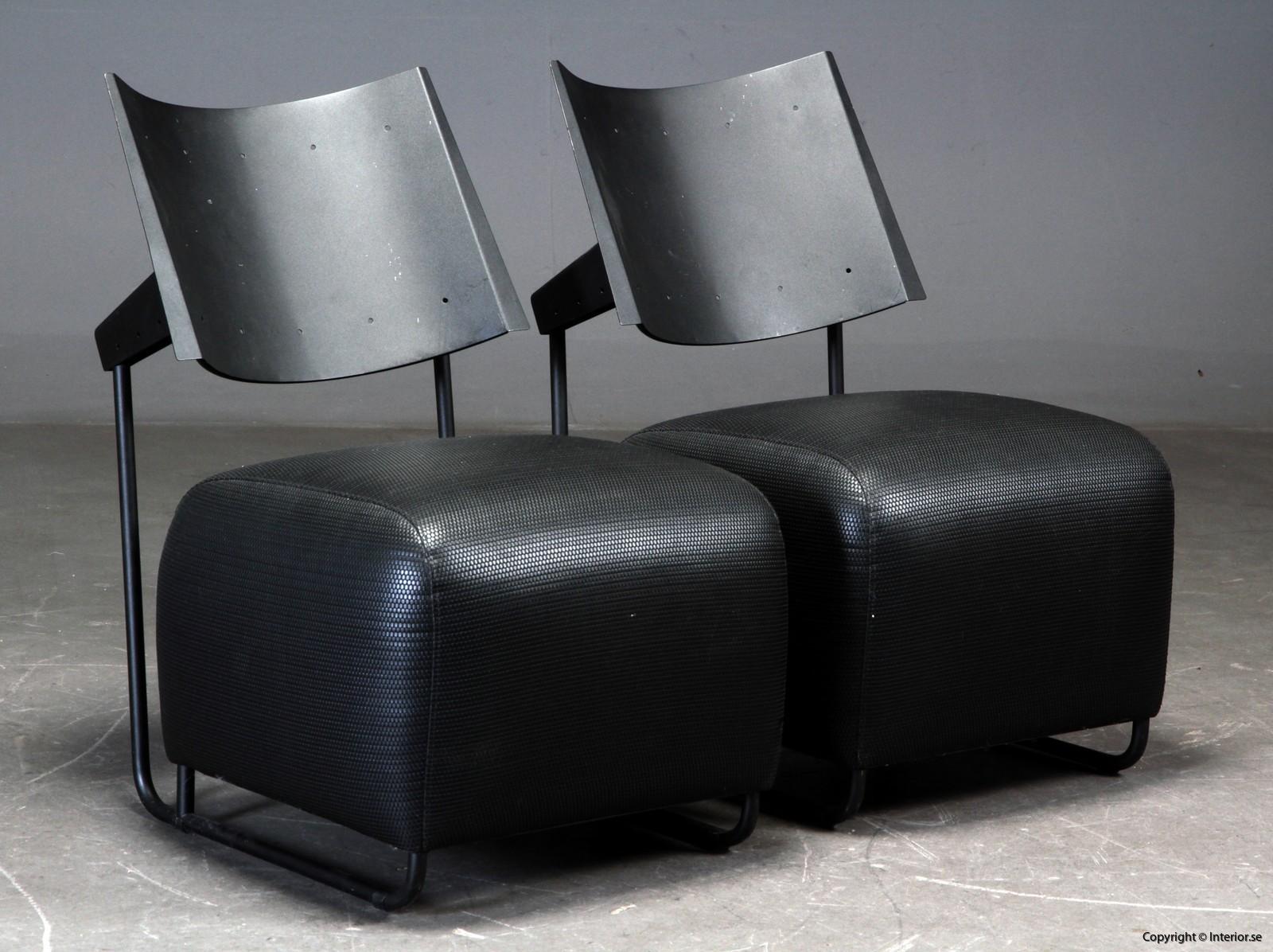 italian lounge armchairs loungechairs begagnade designmöbler