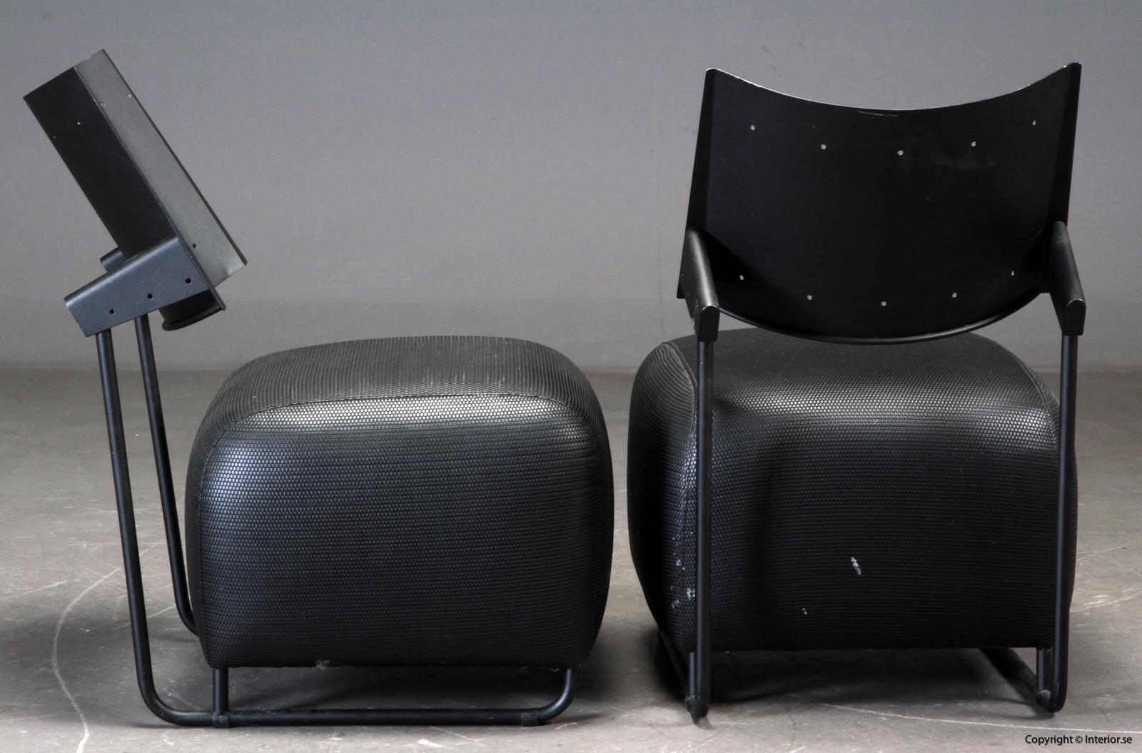 italian lounge armchairs loungechairs begagnade designmöbler 5