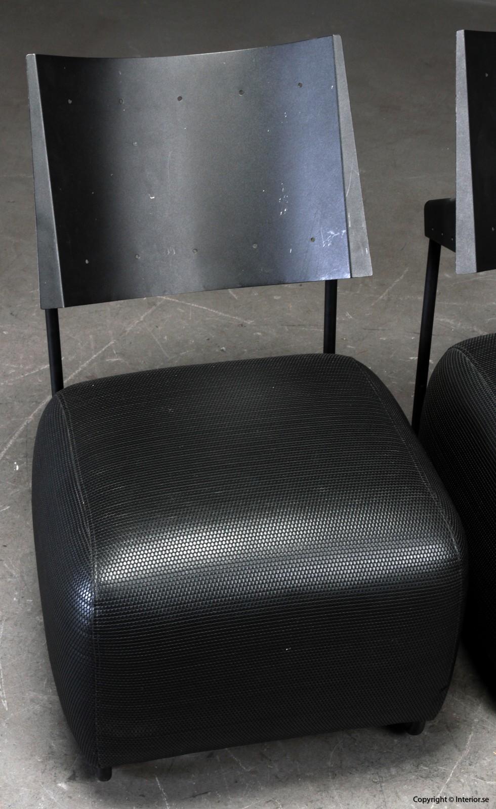 italian lounge armchairs loungechairs begagnade designmöbler 3