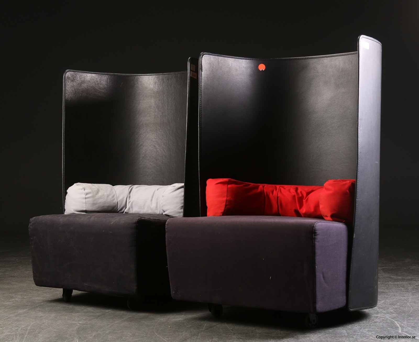Fåtöljer armchairs sessel Zanotta Campo De Pas, D'Urbino, Lomazzi - Ett par