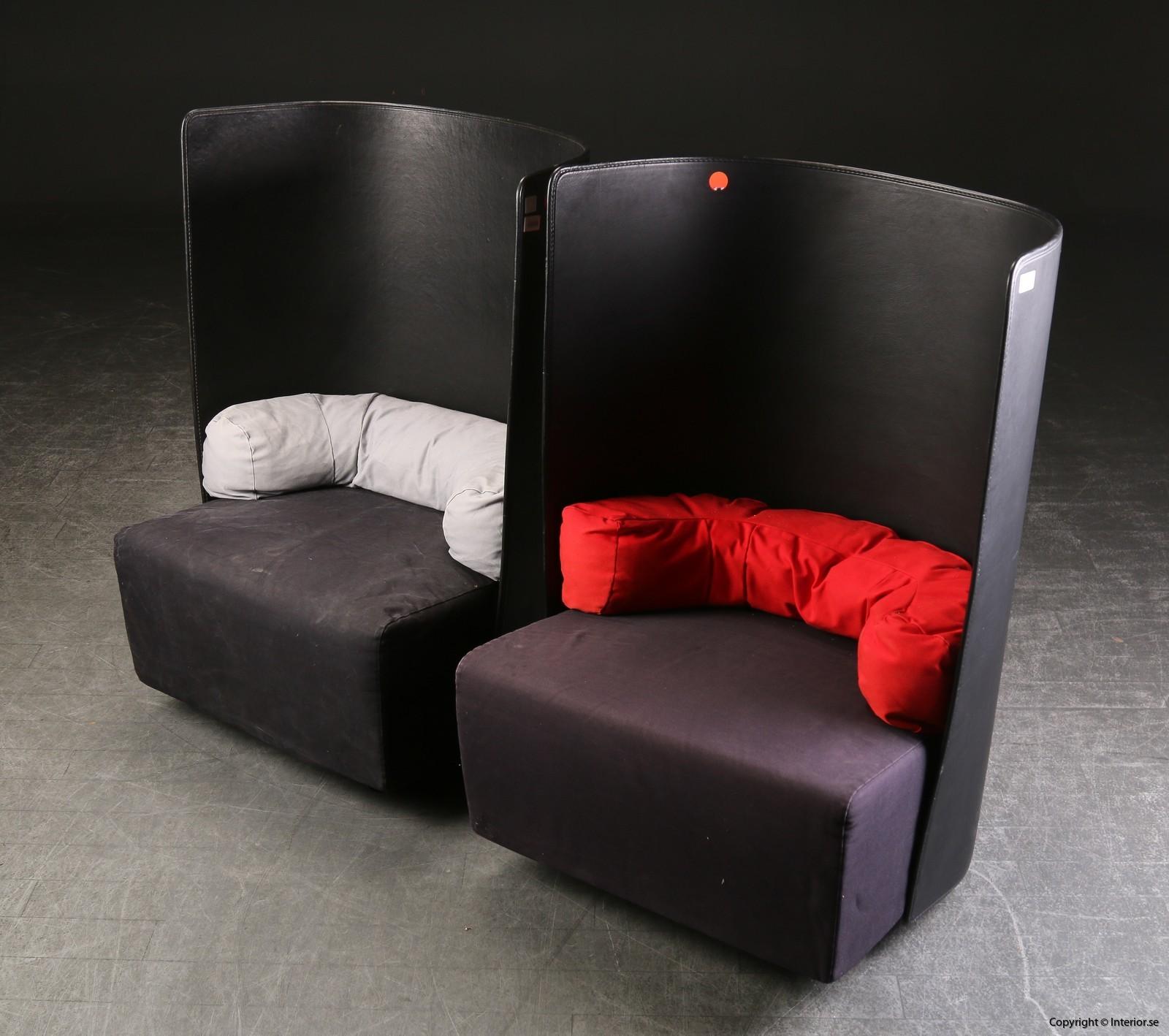 Fåtöljer armchairs sessel Zanotta Campo De Pas, D'Urbino, Lomazzi - Ett par 2