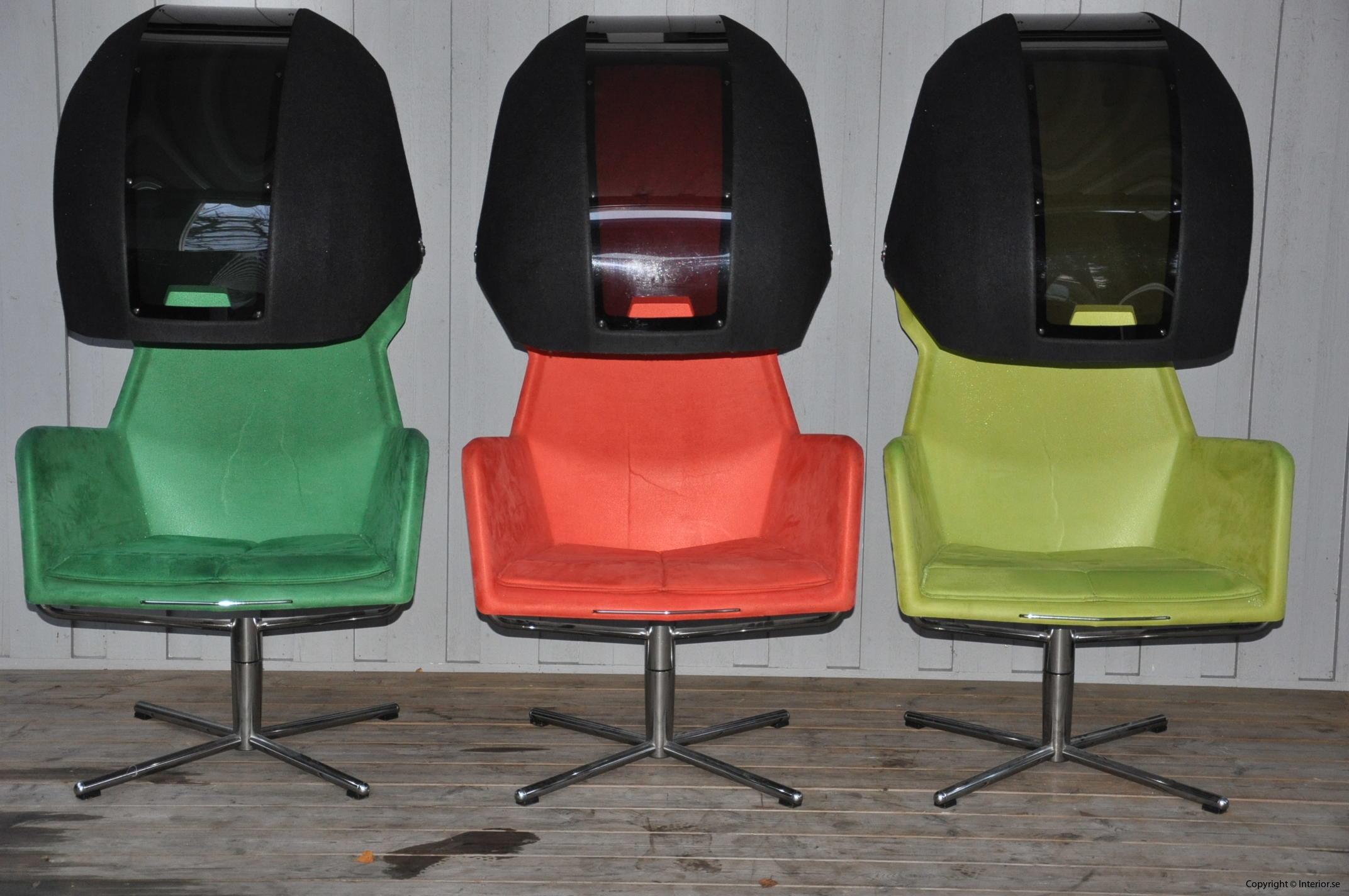 Fåtöljer sessel armchair Blå Station Peekaboo - Flera Färger - Stefan Borselius (2)