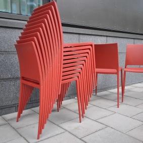 Stolar, Pedrali Mya 700 - Röda