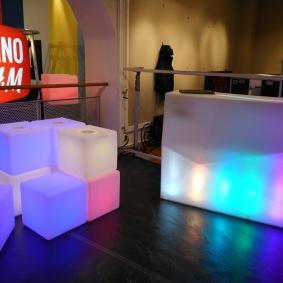 RGB LED Kuber - 40 x 40 cm