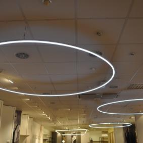 LED pendlar ∅ 250 cm - Hyr belysning
