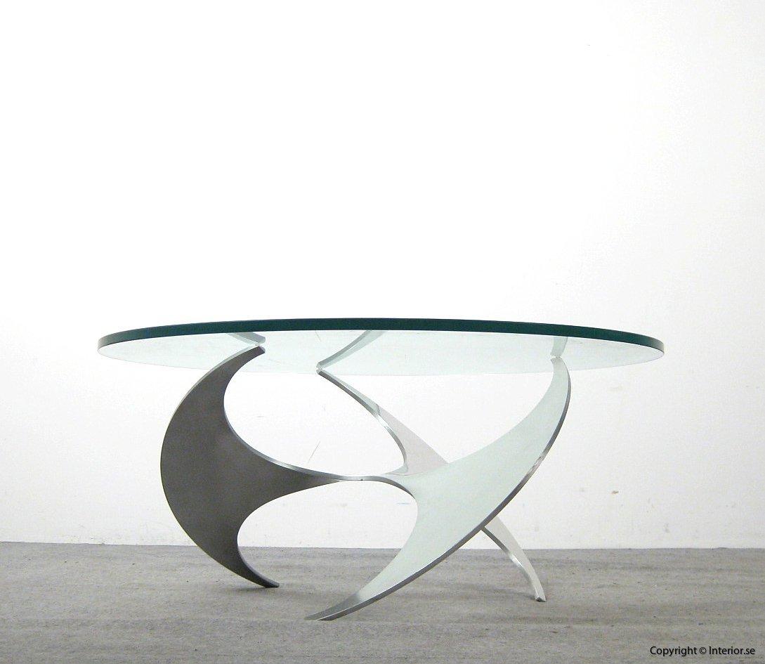 Soffbord coffee table couchtisch, Ronald Schmitt Propeller - Knut Hesterberg