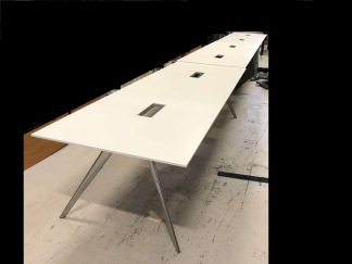 Konferensbord, Fritz Hansen Model T-N  - 840 cm