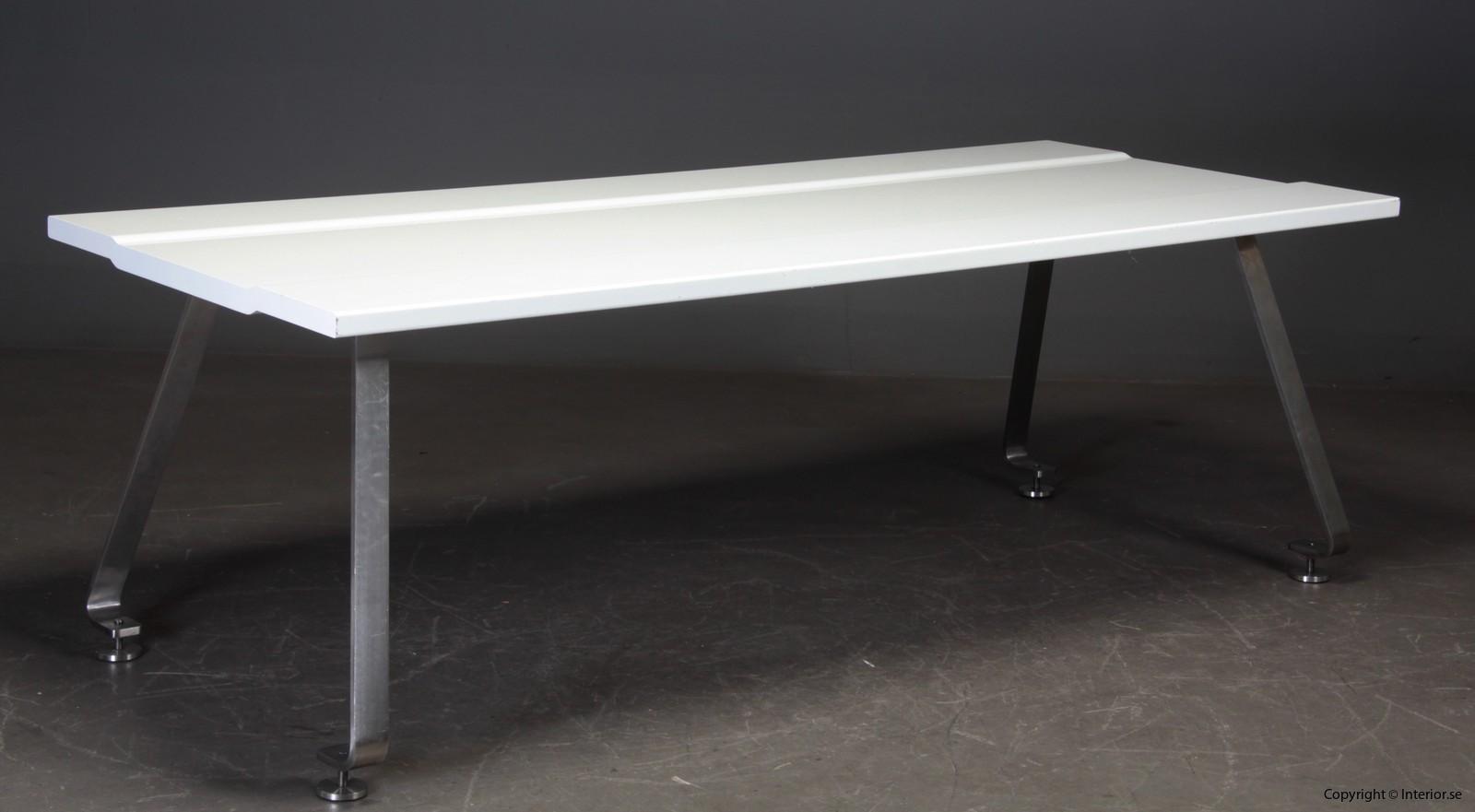 Unikt konferensbord konferenztisch table, Design by Johannes Torpe - 240 x 100 cm