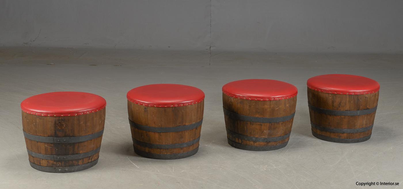 Möbler av vintunnor  wine barrels Meubels gemaakt van wijntunnels Möbel aus Weintunneln, sittpallar & bord 5