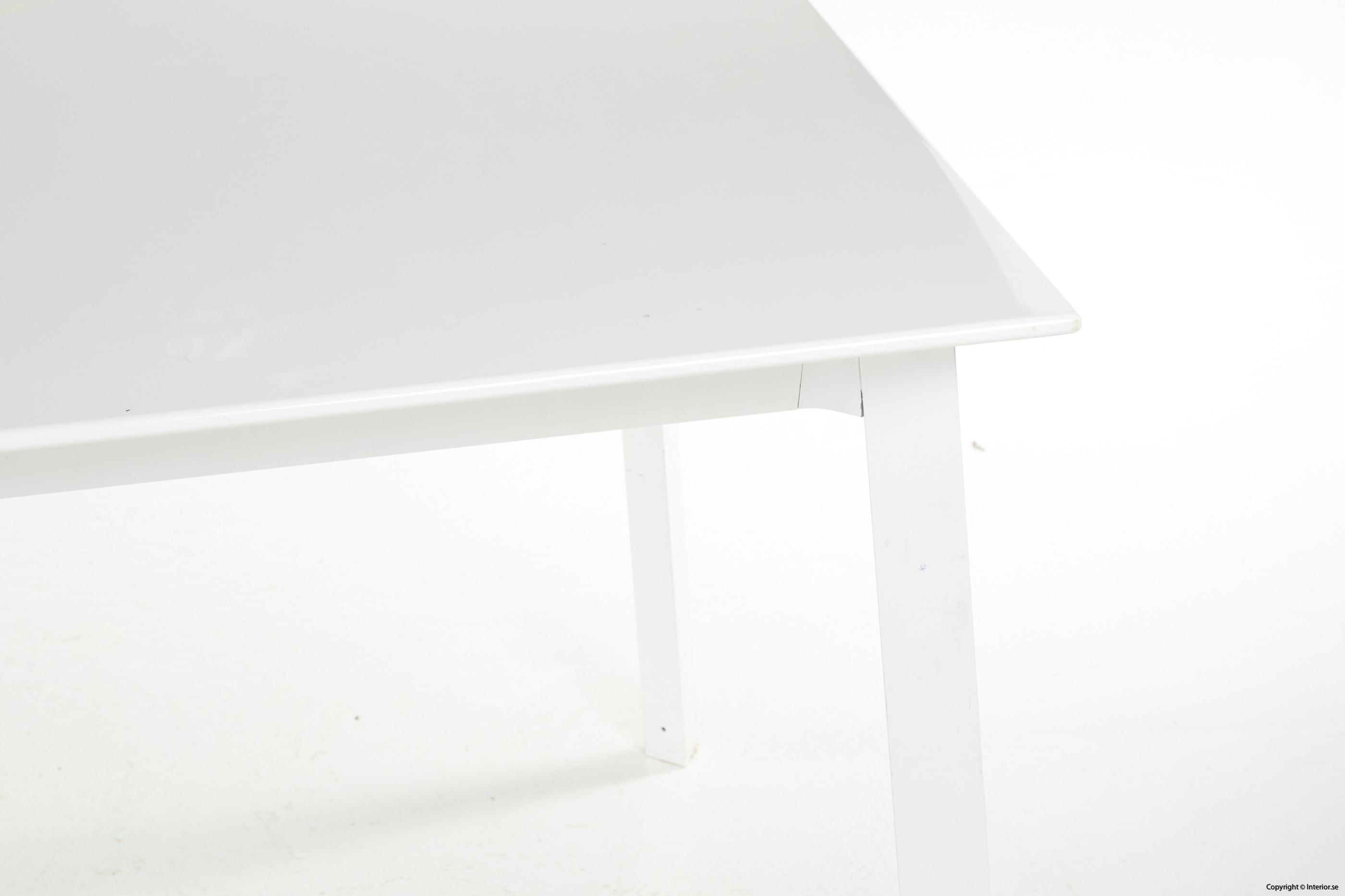 Konferensbord, vit laminat & stål - 280 x 90 cm conference table 2
